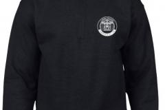 Black Full Zip Sweatshirt